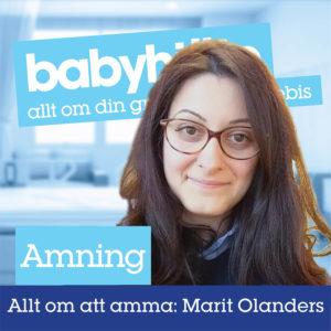 Amning Marit Olanders